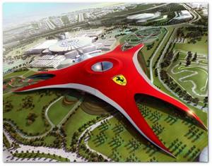 Parque temático de Ferrari en el Emirato Árabe de Abu Dhabi T60101-a-fer