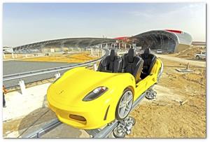 Parque temático de Ferrari en el Emirato Árabe de Abu Dhabi T60101fer