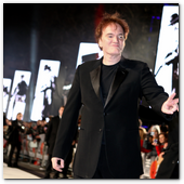 :: Pulse para Ampliar :: January 10, 2013 - London, UK: Director Quentin Tarantino at the DJANGO UNCHAINED London Premiere.