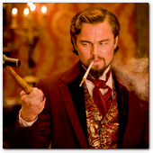 ":: Pulse para Ampliar :: Leonardo DiCaprio in Columbia Pictures' ""Django Unchained,"" starring Jamie Foxx and Christoph Waltz."