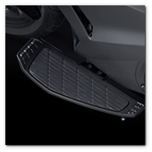:: Pulse para Ampliar :: 2014 NM4 Vultus: Detail - foot board