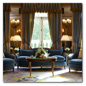 :: Pulse para Ampliar :: MAD12ENE017.- Hotel Ritz de Madrid: Royal Suite (living)